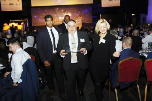 UK Bus Awards 19 Nick 187